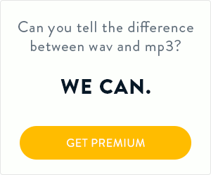 Can you tell the difference between wav and mp3? We can.